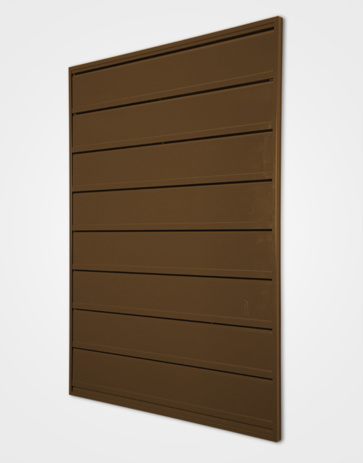 Grippit Wall Frame / Chocolate Brown