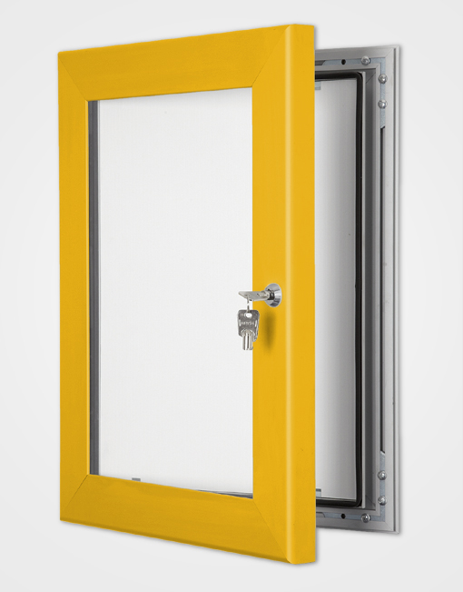 Outdoor Light Box / Gold Anodised