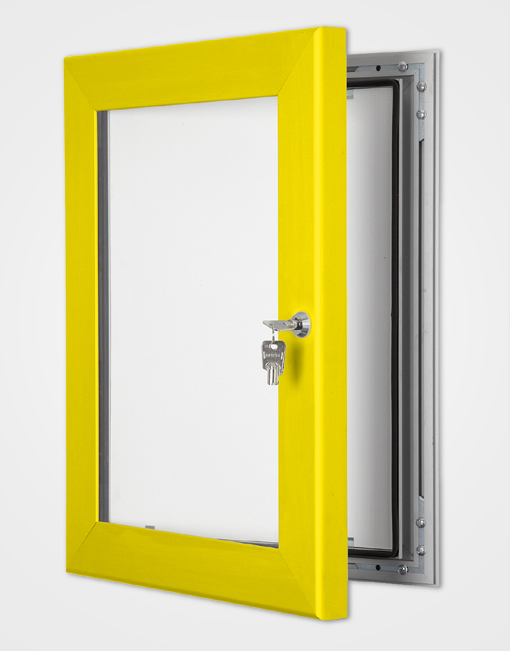 Outdoor Light Box / Rape Yellow
