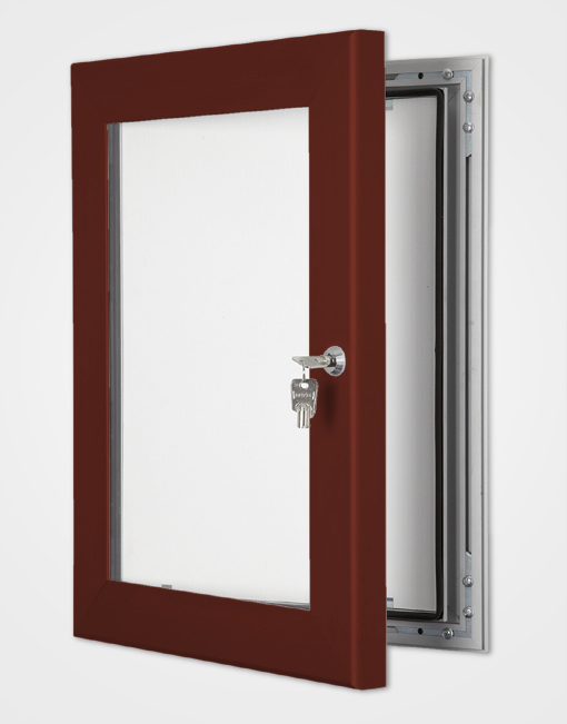 Outdoor Light Box / Red Brown