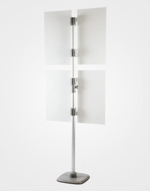 Pole Panel Stand