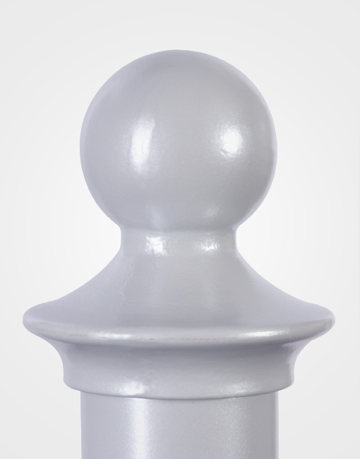 Round Finial Cap Sign Shapes