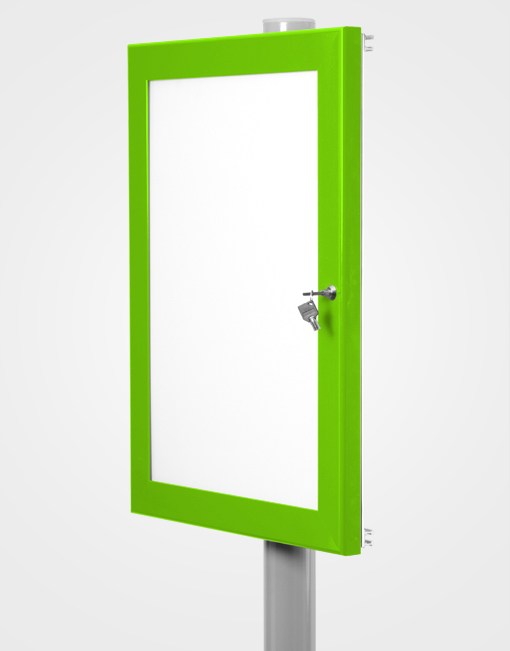 Post Channel Frame / Traffic Green