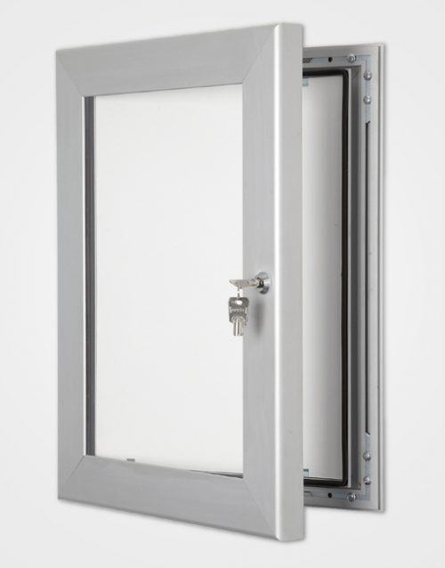 Silver Secure Lock Frame