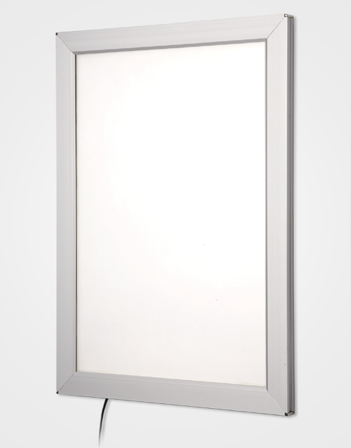 Silver Snap Frame Light Box
