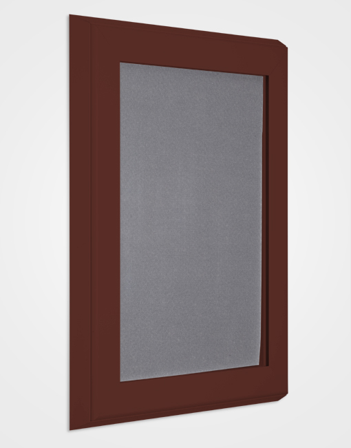 Ultimate Pin Board Case / Red Brown