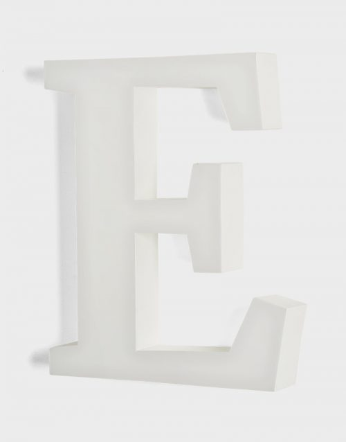 Flat Face Illuminated Letters